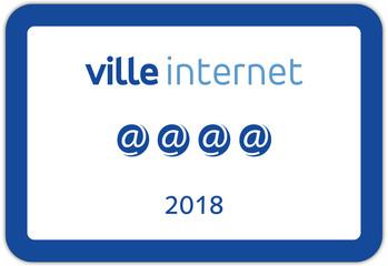 Panneaux en France : ville internet