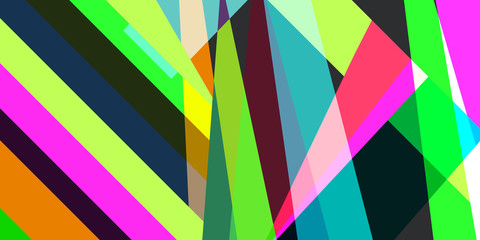 Abstract geometric multicolored background from lines and stripes vector eps 10