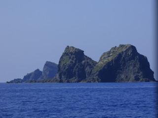Las islas Columbretes, situadas al este del cabo de Oropesa, integradas en el término municipal de Castellón de la Plana, en la provincia de Castelló (Comunidad Valenciana,España)