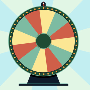 Wheel of Fortune: roulette game spin