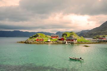 Fischer- und Ferienhaus nahe dem Nordkap