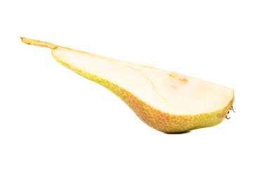Slice of fresh pear