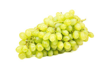 Branch green grapes