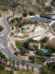 Finestrat, municipio de la Comunidad Valenciana, España. Situado en la provincia de Alicante, en la comarca de la Marina Baja, forma una conurbación con Benidorm