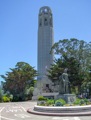 Coit Tower at Telegraph Hill