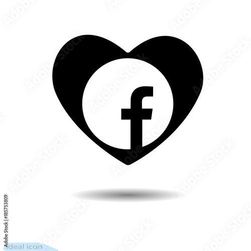The Heart Icon A Symbol Of Love Valentine S Day With The Sign Of