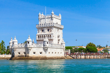 Belem tower, popular attractions of Lisbon