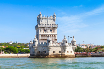 Belem tower or the Tower of St Vincent