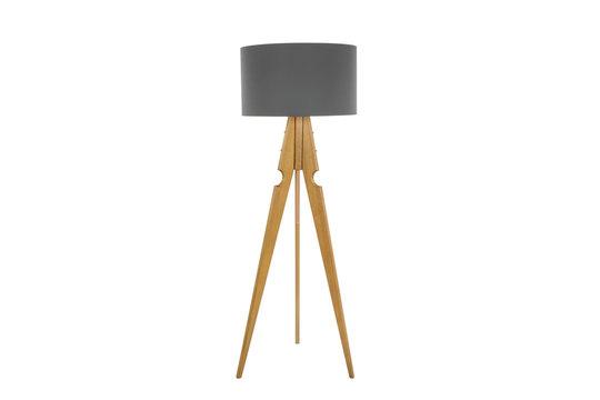 Decorative tripos standing light - FLOOR LAMP / LAMPSHADE