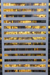 Modern skycraper window