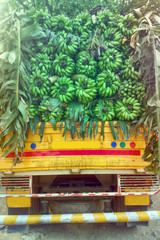 truck load of bananas