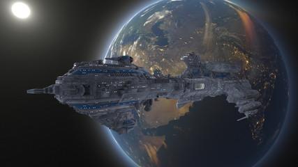 Kosmiczna łódź