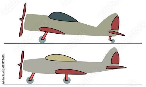 light sport airplane, civilian airplane, training aircraft