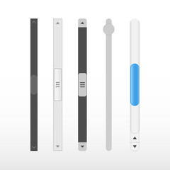 Scroll bars icon.