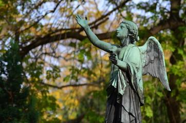 Figuren Statue Engel Friedhof