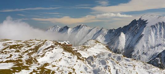 Landscape nearby ski resort Kaprun, Austria