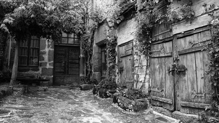 Ferme ancienne début 1900 dans le Perrigord