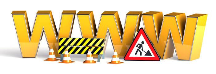 WWW Internet Baustelle