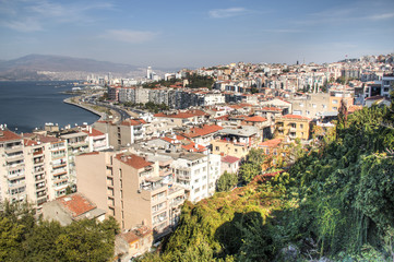 View over Izmir in Turkey.