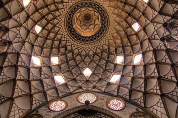 Abasian house in Kashan, Iran.