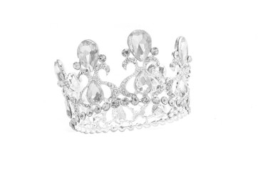 crown isolated in white background