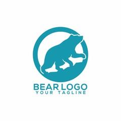 Bear Logo Vector Art