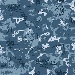 Digital urban camouflage seamless pattern