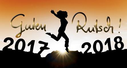 Sprung ins Neue Jahr