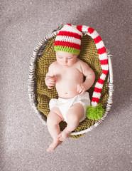 Cute baby in hat