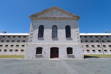 Verwaltungstrakt eines Gefängnis in West-Australien