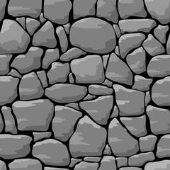Stone wall seamless pattern background