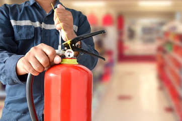 Fire Extinguisher Safety Technician