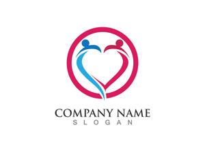 Love People Logo Vector