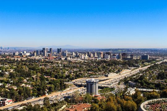 ロサンゼルス一望
