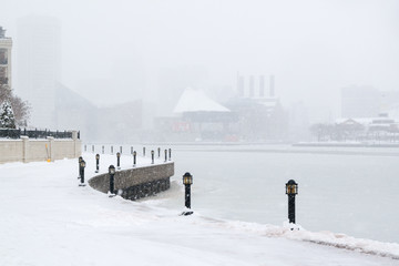 Snow Covered Baltimore