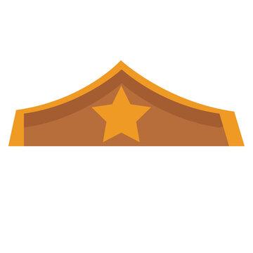 Warrior women crown icon vector illustration graphic design