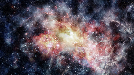 Starry outer space background texture. Elements of this image furnished by NASA