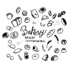 Bakery Illustration Pack