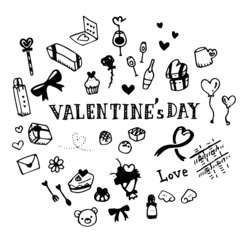 Valentine's Day Illustration Pack