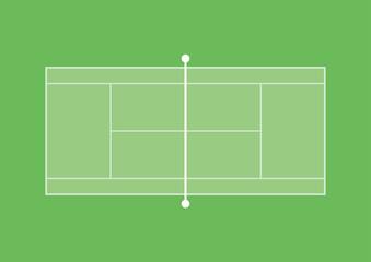 写真の検索 硬式テニスコート