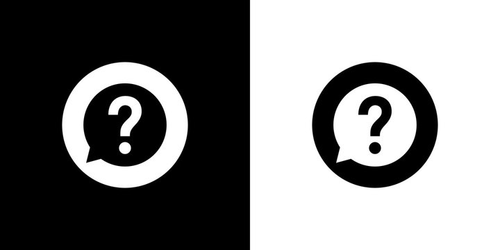 question mark design