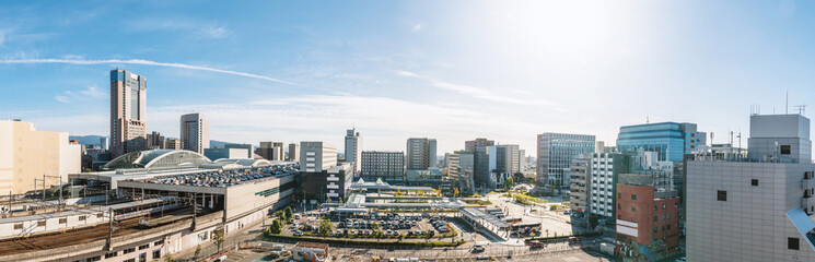 金沢市街地風景