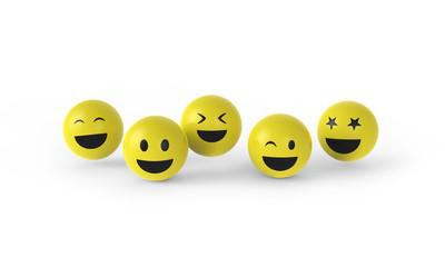 Smileys haben Spaß
