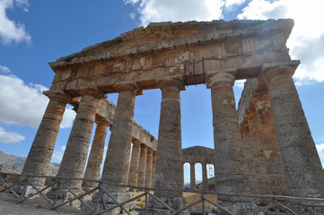 Doric temple in Segesta