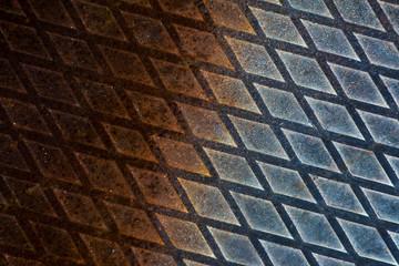 Metallmuster Rostspuren
