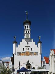 Kempten, Allgäu, Schwaben, Bayern, Rathaus, Rathausplatz, Rathaus