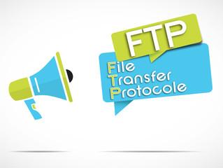 megaphone : FTP