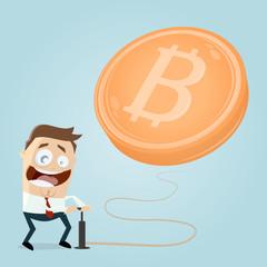 bitcoin bubble clipart