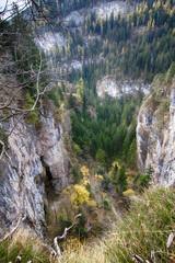 Paesaggio presso Cascata di Tret, Trentino