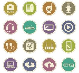 Hi tech paper stickers